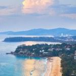 View at Kata Noi, Kata and Karon beach — Stock Photo #62993613