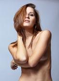 若いトップレス女性 — ストック写真
