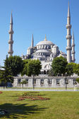 Blue Mosque (Sultanahmet Camii) in Istanbul. — Stok fotoğraf