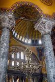 All'interno della galleria superiore di Hagia Sophia. Istanbul — Foto Stock