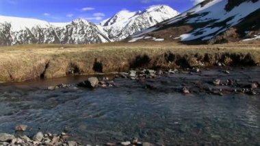 Mountain landscape — Stock Video