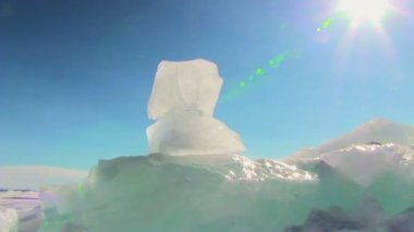 Winter Baikal — Stock video