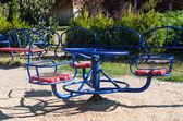 Playground in park — Stock Photo