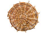 Wickerwork vine brown texture circe — Stock Photo