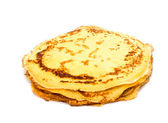Traditional russian crepes — Stock Photo