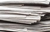 报纸的堆栈 — 图库照片