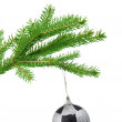 Fir branch with a toy — Stock Photo #55000339