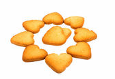 Hart cookies — Stockfoto