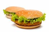 Big hamburgers — Stock Photo