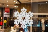 Beautiful snowflake  — Stock Photo