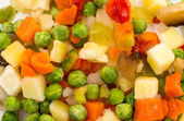 Frozen vegetables for soup — Foto de Stock