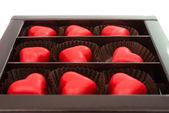 Candy hearts — Stock Photo