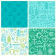 Vector seamless patterns — Stock Vector #70476265
