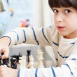 Young chess player — Stock Photo #60528155