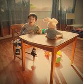 Dzieci w pokoju zabaw — Zdjęcie stockowe