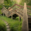 Romantic Landscape with Stairway — Stock Photo #61883033