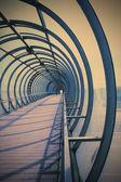 Fantastic urban corridor — Stock Photo
