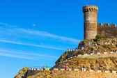 Watchtower of the medieval fortress Vila Vella, Tossa de Mar, Sp — Stock Photo