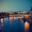 Russia-01.06.2014,  night view of Kremlin, Moscow — Stock Photo #62531015