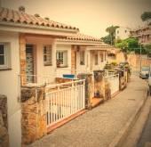 Avenida Mar Menuda street on the Mediterranian coast — Fotografia Stock