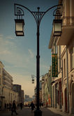 Kamergersky lane, Moscow, Russia — Stock Photo