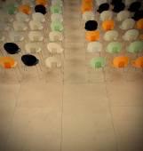 Chairs in auditorium — Stock Photo