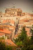 Panorama of the town Tossa de Mar, Spain — Stockfoto