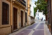Tossa de Mar, Spain, Carrer la Guardia street at summer day — Stock Photo