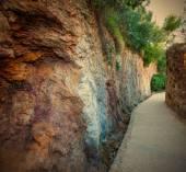 Paths among the rocks — Stock Photo
