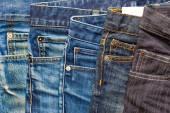 Fashion aged jeans — Stock Photo