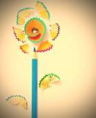 Art flower — Stock Photo