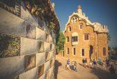 House-Museum of Antonio Gaudi, Barcelona — Stock Photo