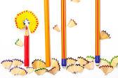 Pencil flowers — Stock Photo