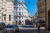 Streets of old Vienna — Stock Photo