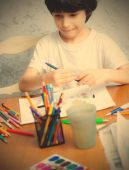 Young artist — Stock Photo