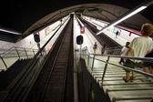 地下鉄駅の栄光、バルセロナ、スペインのインテリア — ストック写真