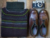 Stilleven met Vintage trui — Stockfoto