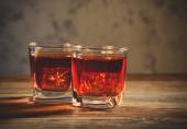 Whiskey drinks — Stock Photo