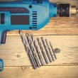 Electric drill — Stock Photo #75042173