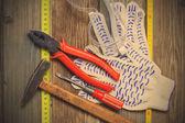 Vintage tool set — Stockfoto