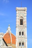 Campanile di Giotto and Duomo — Stock Photo