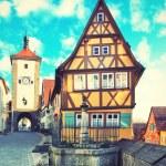 Rothenburg ob der Tauber — Stock Photo #54536891