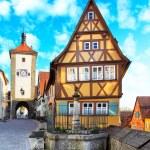 Rothenburg ob der Tauber — Stock Photo #55726593