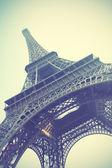 эйфелева башня в париже — Стоковое фото