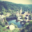 Small old town in Czechia — Stock Photo #61452887