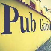 Pub Sign — Stock Photo