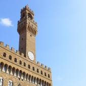 Palazzo Vecchio in Florence — Stock Photo