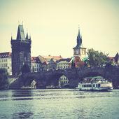 Bridge in Prague — Stock Photo
