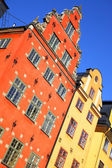 Old houses on Stortorget — Stock Photo