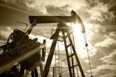 Plate-forme pétrolière. — Photo
